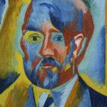 1 Autoportrét Otakara Kubína detail