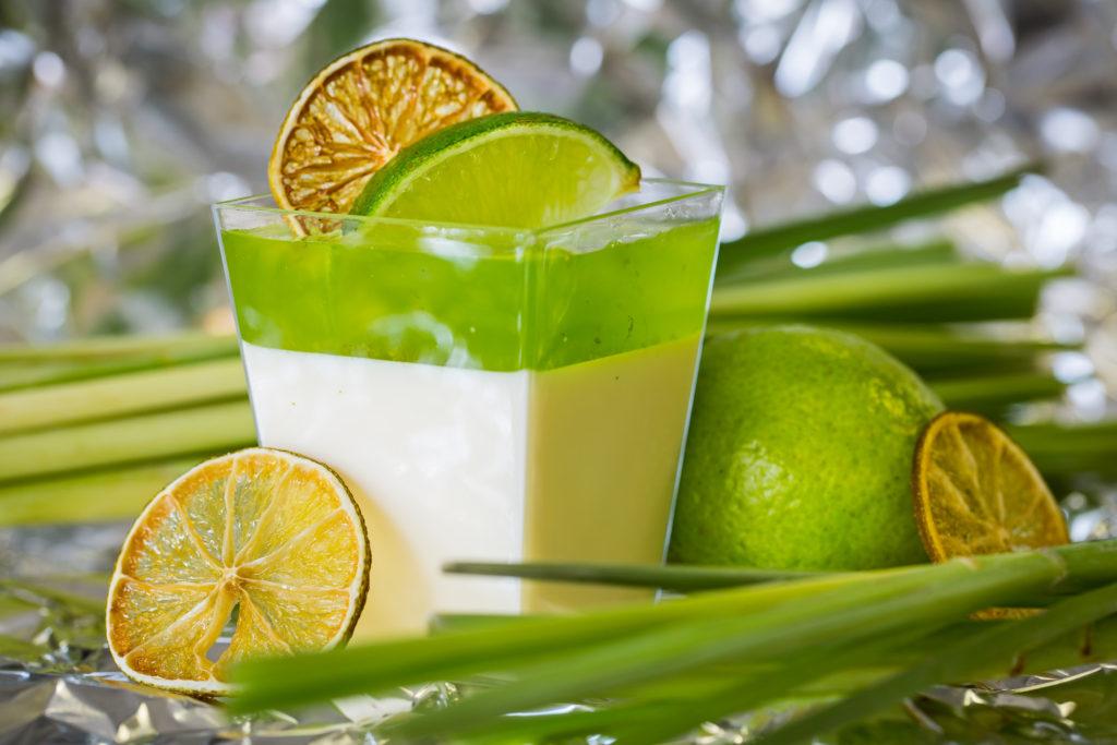 1 citrónová panna cotta