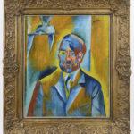 2 Autoportrét Otakara Kubína obraz