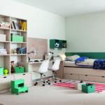 2b vysouvací lůžko chlapecký pokoj