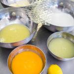 4 ingredience francouzský citrónový koláč