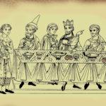 2_Středověká hostina s preclíky