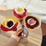 2 zmrzliny růžičky Amorino