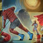 6_Velký úklid, olej na plátně, 190x300, 2008