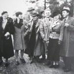 2_Karel Čapek a Olga Scheinpflugová s příbuznými a přáteli na Strži 1935