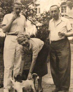 5_Ferdinand Peroutka Olga Scheinpflugová a Karel Čapek na Strži 1938