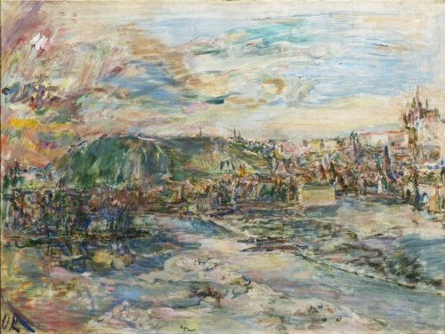 Kokoschkova Praha za téměř 53 milionů, na aukci v Arthouse Hejtmánek padaly i další rekordy