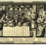 4_Cukrář Abraham Bosse_rytina okolo roku 1632_z archivu Britského muzea pro Muzeum gastronomie_repro zdarma