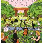 3_Plakát hudebního festivalu v Kanazawě 2016_ autor Jíří Votruba_foto archiv JV_repro zdarma