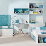 4 Studijní kout v chlapeckém pokojíku