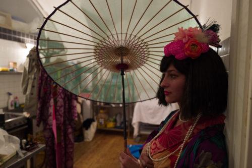 Park před pražskou Portheimkou ožije přehlídkou kimon