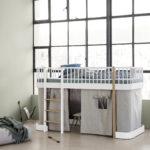 5_Postýlka Mini+ jako vysoká postel se zatahovacím bunkrem_foto Viabel_repro zdarma