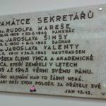 7_Pamětní deska s jménem Jaroslava Valenty v přízemí Paláce YMCA_foto Wikipedie_repro zdarma