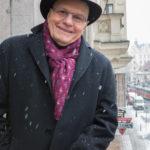 3_Jan Přeučil na balkóně Paláce YMCA v ulici Na Poříčí 12_foto Jana Pertáková pro YMCA_repro zdarma