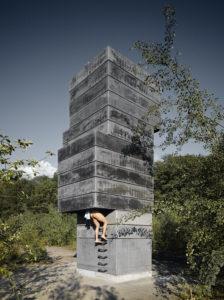 7_foto z výstavy v Paláci YMCA_studio Modulorbeat_One Man Sauna_Bochum Německo_foto Roman Mensing Artdocde_repro zdarma