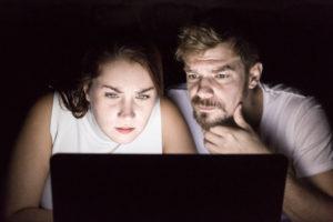 2_Natalie Golovchenko a Petr Buchta ústřední dvojice ze hry Trollové mezi námi_foto Adam Steinwicht_repro zdarma