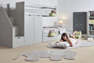 2_Hřejivý akrylový koberec Slon značky Asoral_130x170cm_foto Viabel_repro zdarma