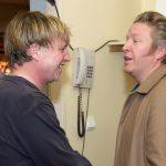 2_Bård Breien s Michalem Dlouhým_v pozadí Kamil Halbich_foto archiv Švandova divadla_repro zdarma