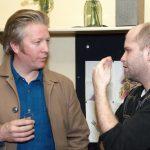 3_Bård Breien s ředitelem Švandova divadla a režisérem jevištní adaptace Danielem Hrbkem_foto archiv divadla_repro zdarma