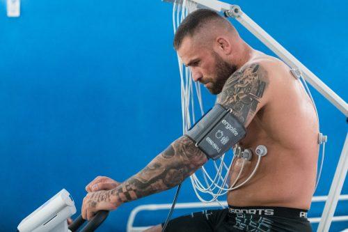 Zápasník Karlos Vémola testoval své zdraví, podstoupil komplexní screening