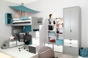4_Pokojík pro teenagera z nábytku Asoral_foto Viabel - Ivan Kahún_repro zdarma