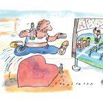 1_Z výstavy karikatur v Paláci YMCA_autor Jan Tomaschoff_ foto archiv_repro zdarma