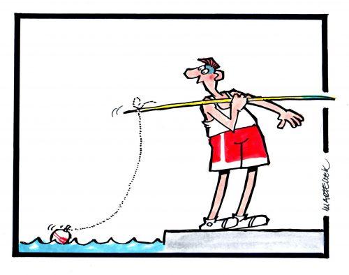 Sport v karikaturách v pražském Paláci YMCA