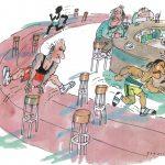3_Z výstavy karikatur v Paláci YMCA_autor Jan Tomaschoff_foto archiv_repro zdarma