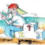 5_Z výstavy karikatur v Paláci YMCA_autor Jan Tomaschoff_foto YMCA_repro zdarma