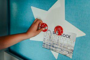 13_Magnetická tabule Hvězda_ foto Viabel - Lucia Rambousková_repro zdarma