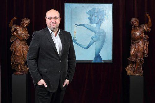 Další aukční rekord pro Mikuláše Medka. Jeho obraz Vajíčko, česká Mona Lisa 20. století, byl vydražen za 57 milionů korun