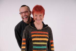 2_zpěvačka Jana Koubková s hudebníkem Janem Kellerem _foto archiv Jany Koubkové_repro zdarma
