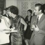 14_Na filmovam festivale v Egyptě v roce 1955 s hercem Omarem Sharifem_foto archiv herečky
