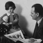 13_Kamila s Vilémem Novým v roce 1932_ S otcem později nadouho názorově rozešla_foto archiv Kamily Moučkové_repro zdarma