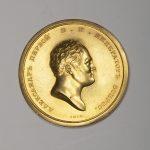 6_Zlatá medaile udílená carem Alexandrem I_foto Arthouse Hejtmánek_repro zdarma