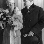 3_Svatební foto novomanželů Milady a Bohuslava Horákových_únor 1927_foto archiv Jany Kánské